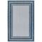 "Liora Manne Carmel Multi Border Indoor/Outdoor Rug Navy 6'6""X9'4"""