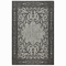 "Liora Manne Carmel Mosaic Indoor/Outdoor Rug Black 6'6""X9'4"""