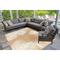 """Liora Manne Carmel Palm Indoor/Outdoor Rug Sand 6'6""""X9'4"""""""