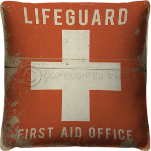 Lifeguard First Aid Office Pillow