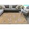 "Liora Manne Carmel Shells Indoor/Outdoor Rug Sand 7'10""X9'10"""