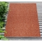 """Liora Manne Carmel Texture Stripe Indoor/Outdoor Rug Red 7'10""""X9'10"""""""