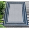 "Liora Manne Carmel Multi Border Indoor/Outdoor Rug Navy 7'10""X9'10"""