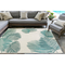 "Liora Manne Carmel Palm Indoor/Outdoor Rug Aqua 7'10""X9'10"""