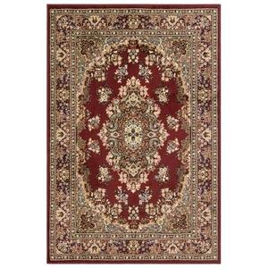 Liora Manne Caspian Kermin Indoor Rug Red 4 Piece Set