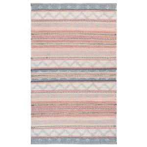 "Liora Manne Cosmos Gypsy Stripe Indoor/Outdoor Rug Pastel 42""X66"""