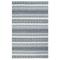 "Liora Manne Cosmos Gypsy Stripe Indoor/Outdoor Rug Grey 7'6""X9'6"""