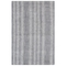 "Liora Manne Cyprus Ombre Stripe Indoor Rug Silver 5'X7'6"""