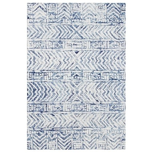 "Liora Manne Cyprus Batik Indoor Rug White/Multi 5'X7'6"""