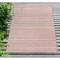 """Liora Manne Dakota Stripe Indoor/Outdoor Rug Brick 42""""X66"""""""