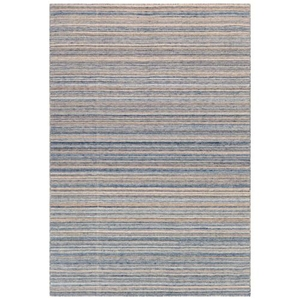 "Liora Manne Dakota Stripe Indoor/Outdoor Rug Navy 42""X66"""