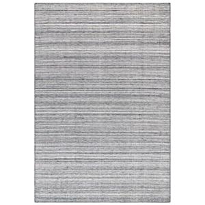 """Liora Manne Dakota Stripe Indoor/Outdoor Rug Grey 42""""X66"""""""