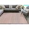 """Liora Manne Dakota Stripe Indoor/Outdoor Rug Brick 7'6""""X9'6"""""""