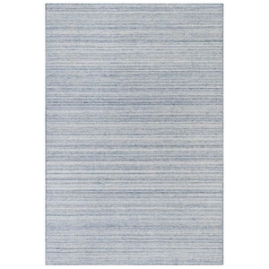 "Liora Manne Dakota Stripe Indoor/Outdoor Rug Blue 8'3""X11'6"""