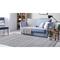 """Liora Manne Dakota Stripe Indoor/Outdoor Rug Grey 8'3""""X11'6"""""""