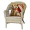 """Liora Manne Frontporch Bird Indoor/Outdoor Pillow Neutral 18"""" Square"""