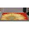 """Liora Manne Frontporch Sunflower Indoor/Outdoor Rug Red 20""""X30"""""""