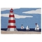 "Liora Manne Frontporch Lighthouse Indoor/Outdoor Rug Sky 20""X30"""