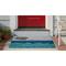 "Liora Manne Frontporch Poolside Indoor/Outdoor Rug Water 20""X30"""