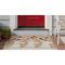 "Liora Manne Frontporch Deer & Friends Indoor/Outdoor Rug Natural 24""X36"""