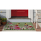 """Liora Manne Frontporch Goldfinch Indoor/Outdoor Rug Green 24""""X36"""""""