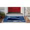 "Liora Manne Frontporch Whalecome Indoor/Outdoor Rug Ocean 24""X36"""