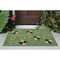 "Liora Manne Frontporch Buzzy Bees Indoor/Outdoor Rug Green 24""X36"""
