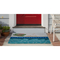 "Liora Manne Frontporch Poolside Indoor/Outdoor Rug Water 24""X36"""