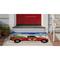 """Liora Manne Frontporch Joy Ride Indoor/Outdoor Rug Grey 30""""X48"""""""