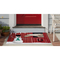 """Liora Manne Frontporch Farm To Table Indoor/Outdoor Rug Red 30""""X48"""""""