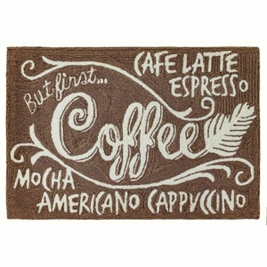 """Liora Manne Frontporch Coffee Indoor/Outdoor Rug Espresso 30""""X48"""""""