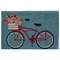 "Liora Manne Frontporch Bike Ride Indoor/Outdoor Rug Blue 30""X48"""