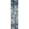 """Liora Manne Hampton Static Indoor Rug Carbon 23""""X7'6"""""""
