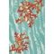 """Liora Manne Illusions Coral Wave Indoor/Outdoor Mat Aqua 23""""X35"""""""