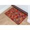"""Liora Manne Illusions Giant Swirls Indoor/Outdoor Mat Fiesta 23""""X35"""""""
