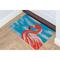 """Liora Manne Illusions Flamingo Indoor/Outdoor Mat Ocean 23""""X35"""""""
