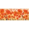 "Liora Manne Illusions Poppies Indoor/Outdoor Mat Red 23""X59"""