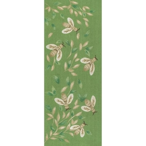 "Liora Manne Illusions Bees Indoor/Outdoor Mat Green 23""X59"""