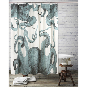 Thomas Paul Pulpo Shower Curtain