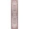 """Liora Manne Legacy Vintage Medallion Indoor Rug Sky Blue 23""""X7'11"""""""