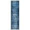 "Liora Manne Marina Kermin Indoor/Outdoor Rug Blue 23""X7'6"""