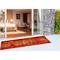 """Liora Manne Marina Kermin Indoor/Outdoor Rug Saffron 23""""X7'6"""""""