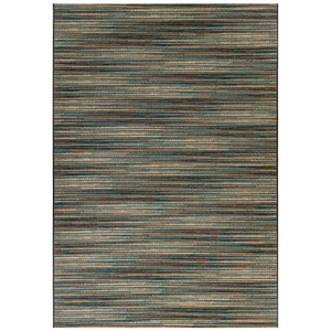 "Liora Manne Marina Stripes Indoor/Outdoor Rug Blue/Multi 39""X59"""