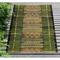 "Liora Manne Marina Tribal Stripe Indoor/Outdoor Rug Green 39""X59"""