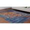 """Liora Manne Marina Suzanie Indoor/Outdoor Rug Blue 4'10""""X7'6"""""""