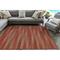 """Liora Manne Marina Stripes Indoor/Outdoor Rug Saffron 4'10""""X7'6"""""""