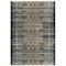 "Liora Manne Marina Tribal Stripe Indoor/Outdoor Rug Black 4'10""X7'6"""