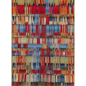 "Liora Manne Marina Paintbox Indoor/Outdoor Rug Multi 7'10""X9'10"""
