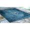 "Liora Manne Marina Kermin Indoor/Outdoor Rug Blue 7'10""X9'10"""