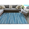 "Liora Manne Marina Stripes Indoor/Outdoor Rug China Blue 7'10""X9'10"""